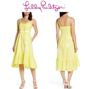 8 LILLY PULITZER Eloisa High/Low Midi Sund…